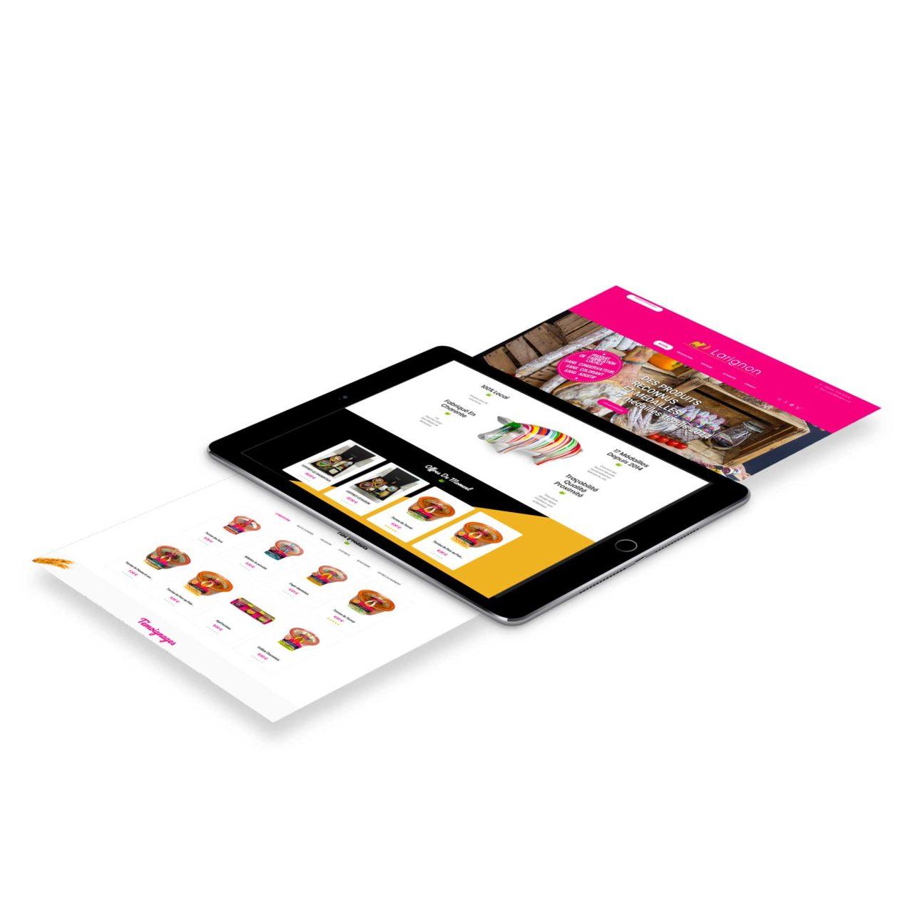 Site E-commerce Larignon