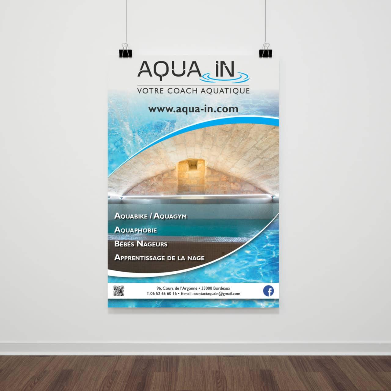 Affiche Aqua In