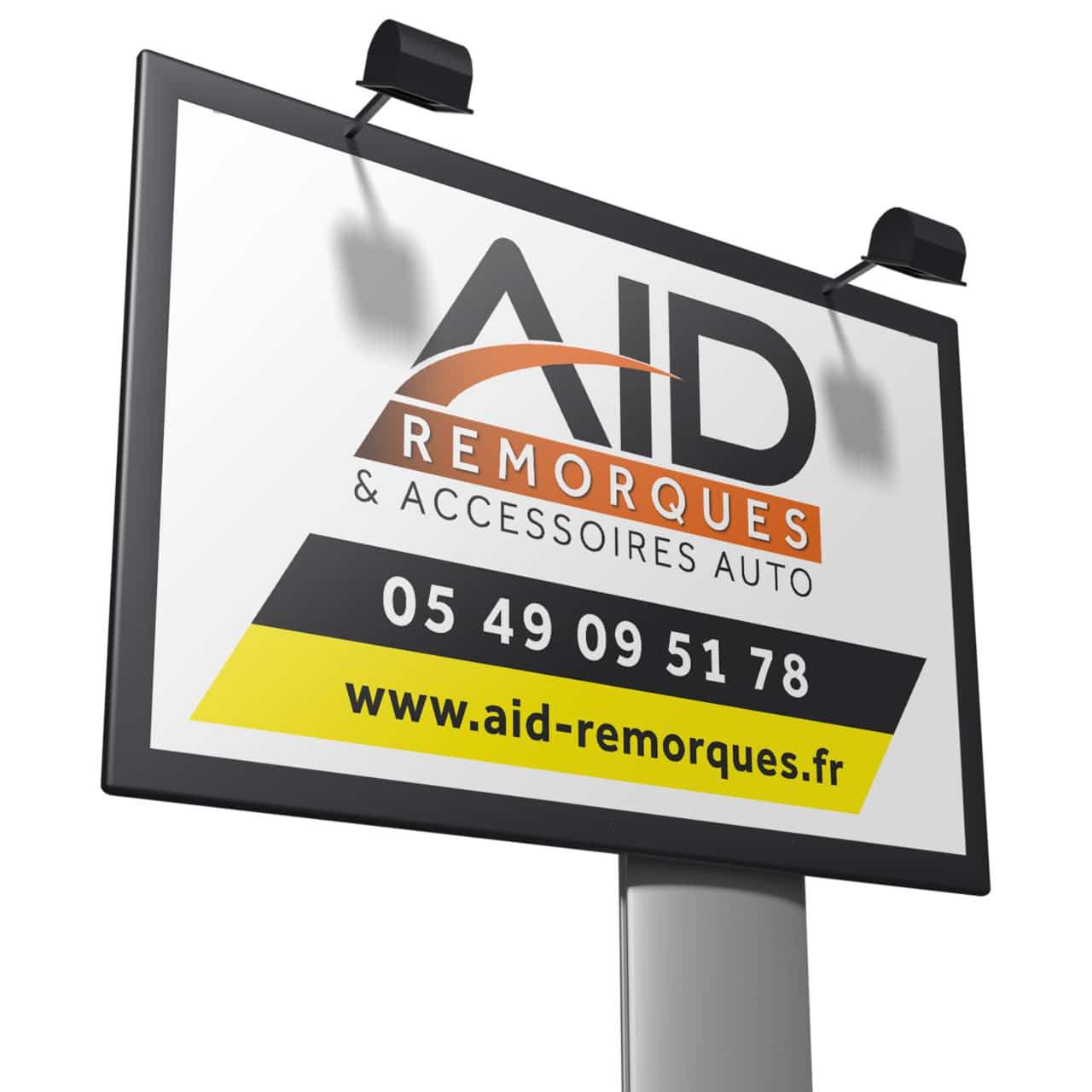 Panneau AID Remorques