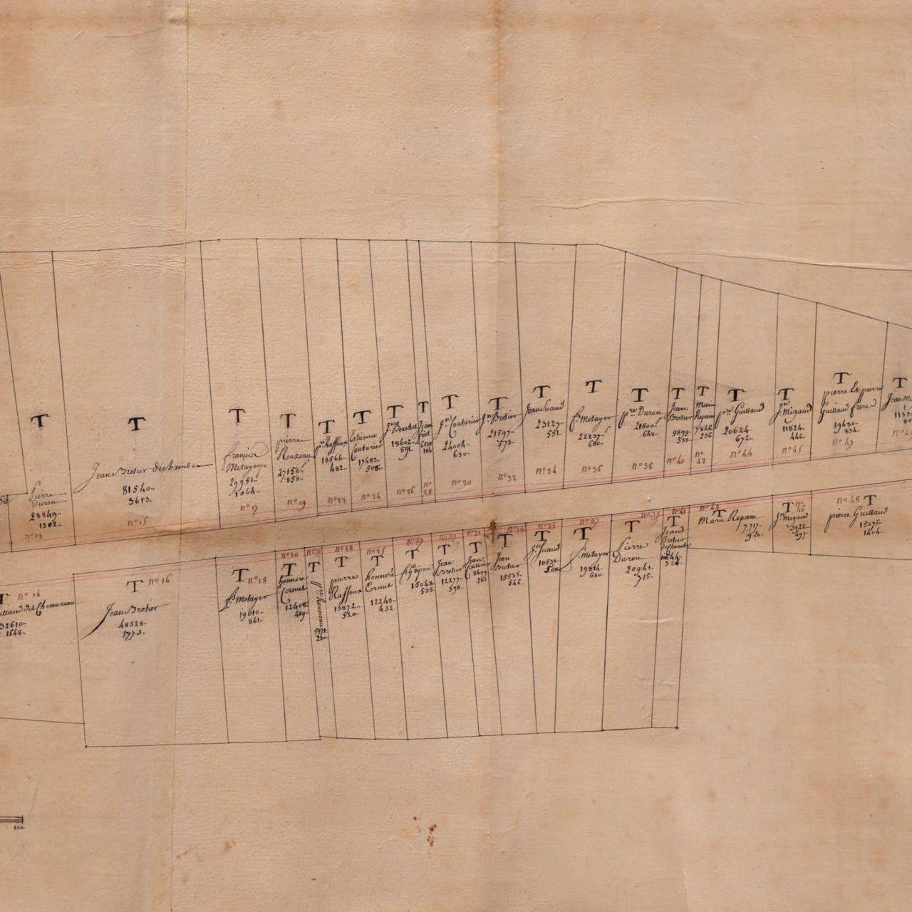 Plan de 10 mètres de longueur