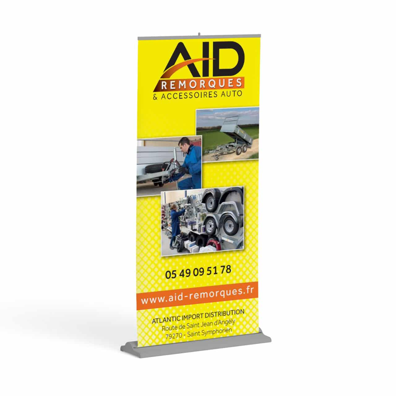 Roll-up AID Remorques